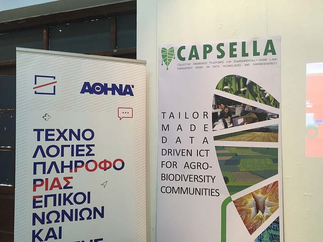 CAPSELLA Workshop at the Open Science Fair 2017 in Athens