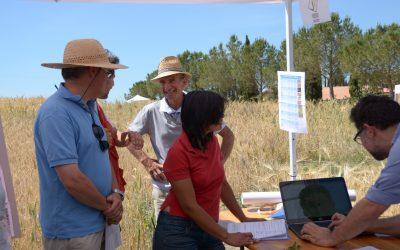 "CAPSELLA's soil pilot at  ""Let's cultivate biodiversity 2017"""