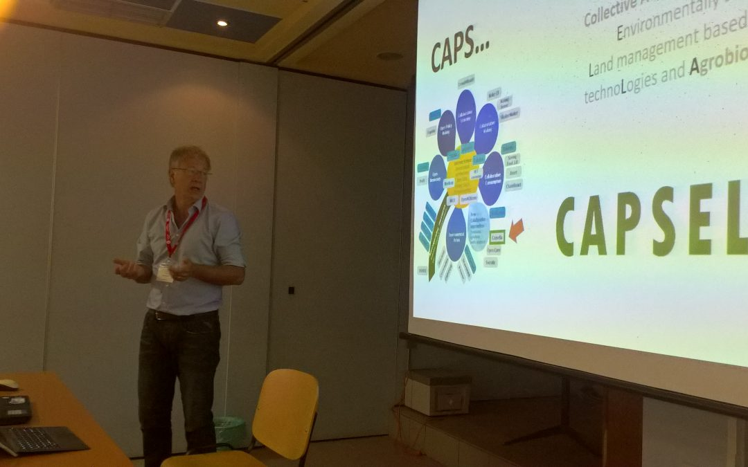CAPSELLA's partner ZTLO at the ISEE 2017 Conference in Chania, see what happened…