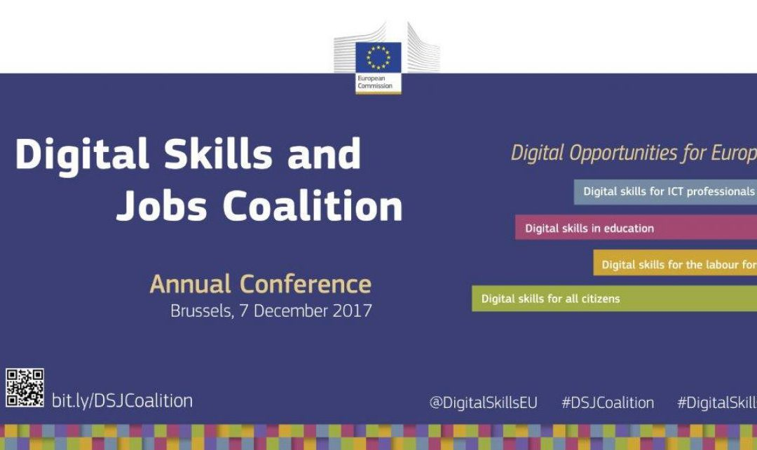 The CAPSELLA storytelling pilot at the Digital opportunities for Europe – Digital Skills and Jobs Coalition Conference