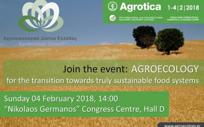 Agroecology for the transition towards truly sustainable food systems